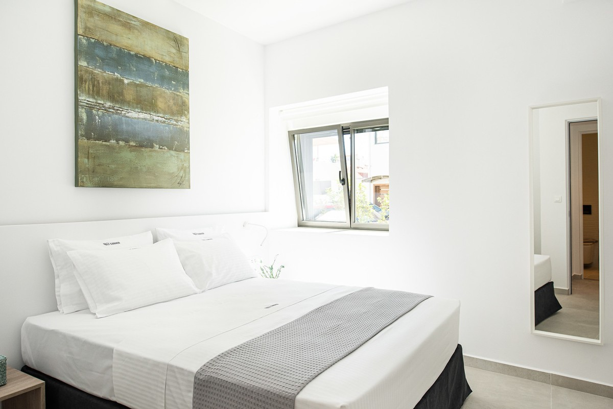 double bed apartments Chania center